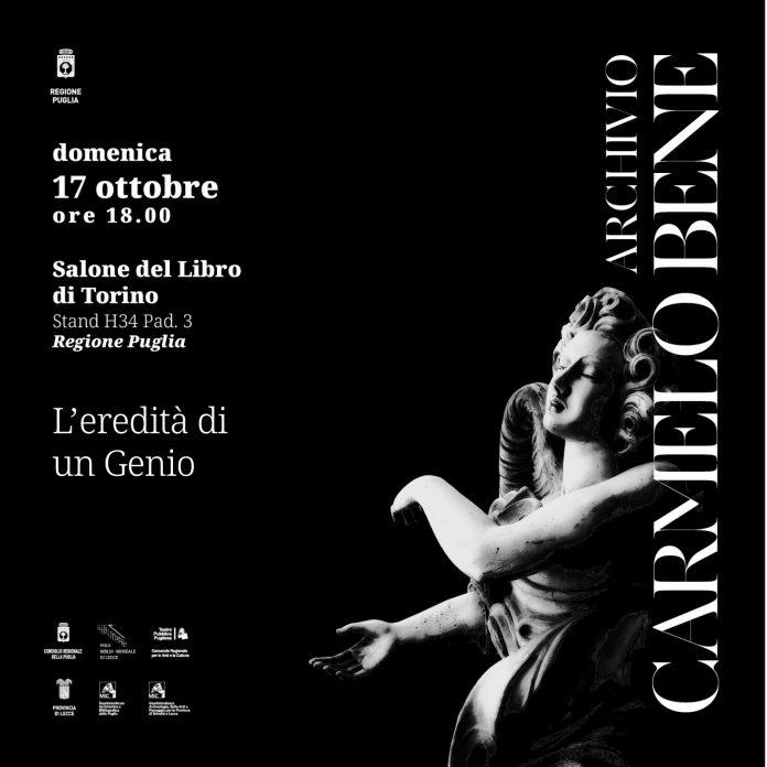 Carmelo Bene - Salone del Libro di Torino